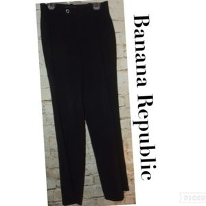 Vtg High Waisted Black Banana Republic Pants